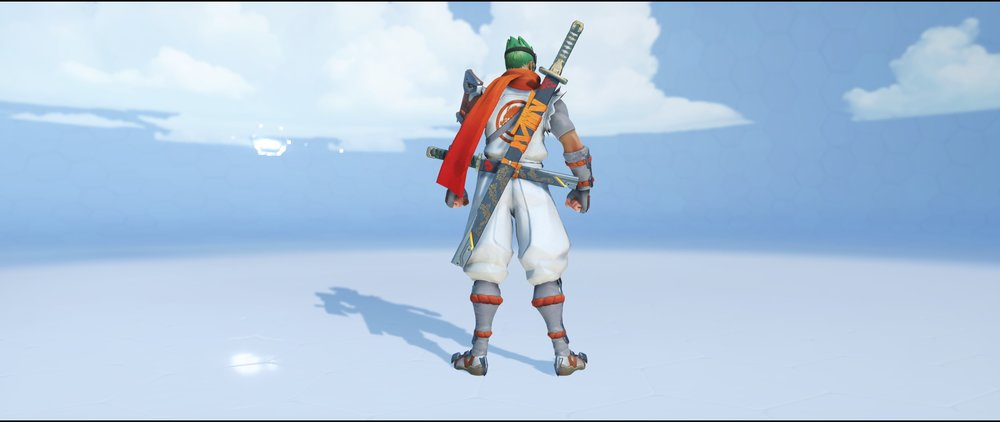 Young Genji back legendary skin Genji Overwatch.jpg