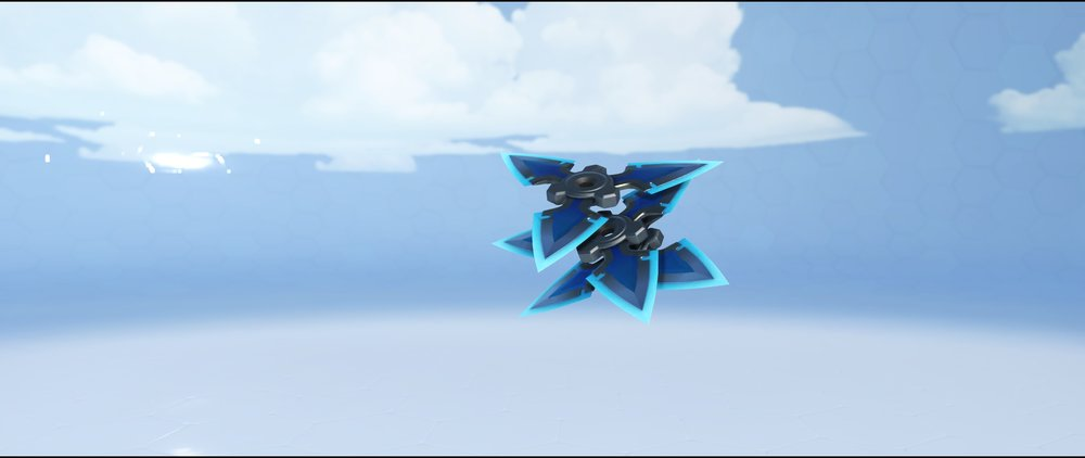 Baihu shurikens legendary Lunar New Year skin Genji Overwatch.jpg