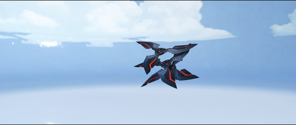 Blackwatch shurikens legendary Archives skin Genji Overwatch.jpg