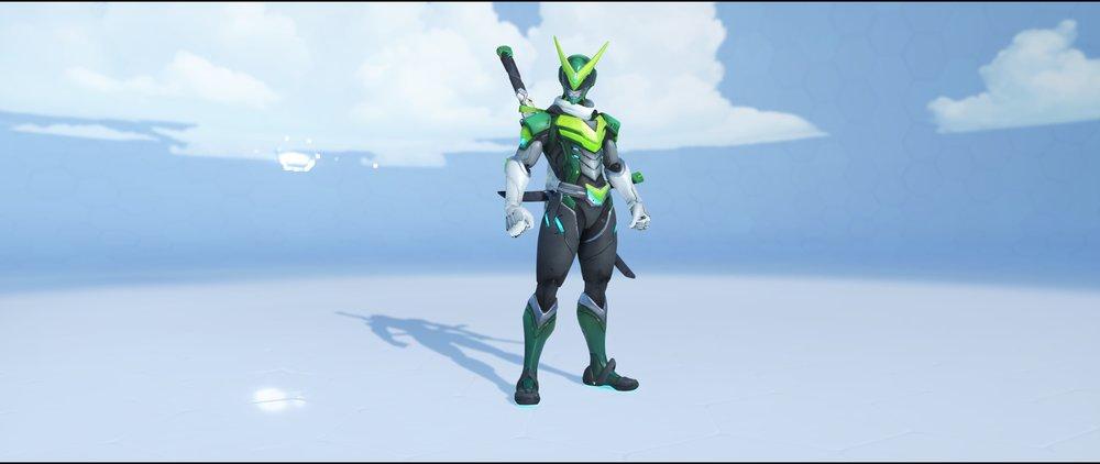 Sentai front legendary Anniversary skin Genji Overwatch.jpg