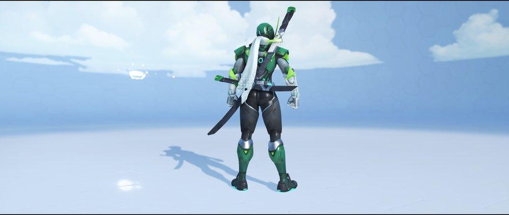 Sentai back legendary Anniversary skin Genji Overwatch.jpg