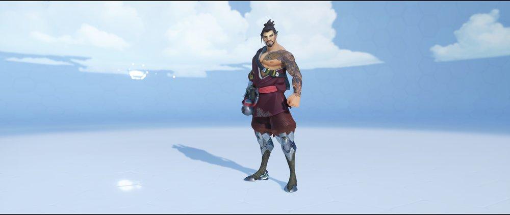 Azuki front rare skin Hanzo Overwatch.jpg