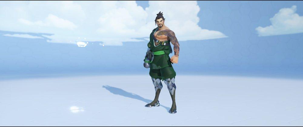 Midori front rare skin Hanzo Overwatch.jpg