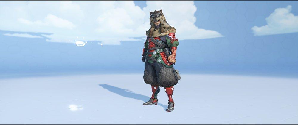 Lone Wolf front legendary skin Hanzo Overwatch.jpg