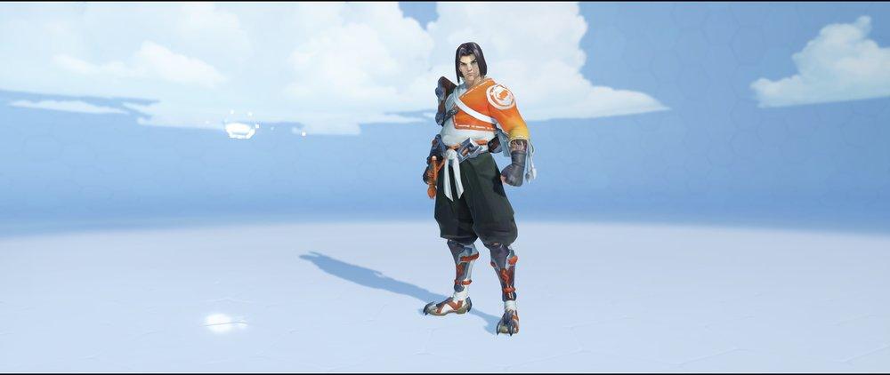 Young Hanzo front legendary skin Hanzo Overwatch.jpg