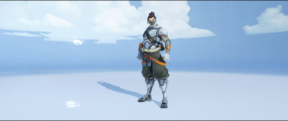 Cyberninja front legendary Anniversary skin Hanzo Overwatch.jpg