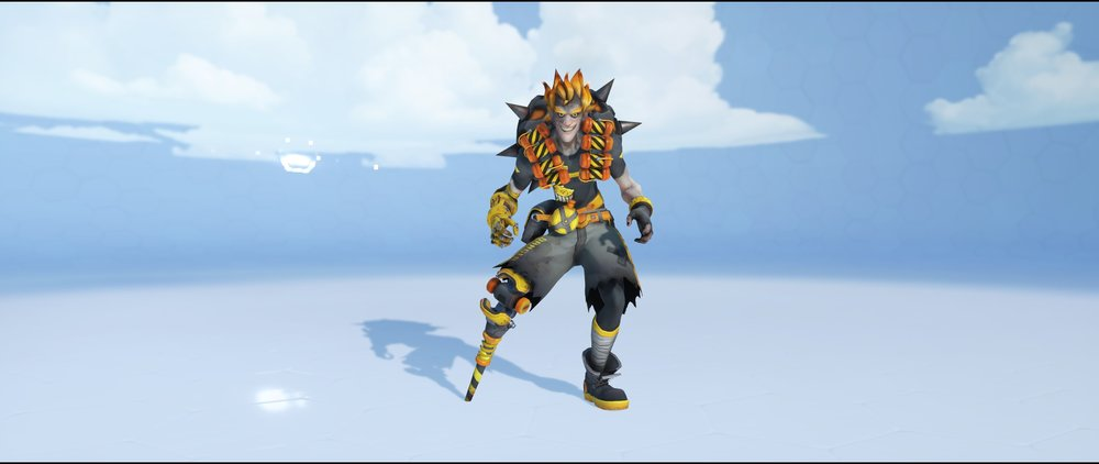 Caution front epic skin Junkrat Overwatch.jpg