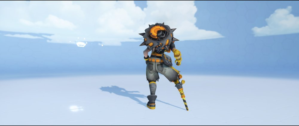 Caution back epic skin Junkrat Overwatch.jpg