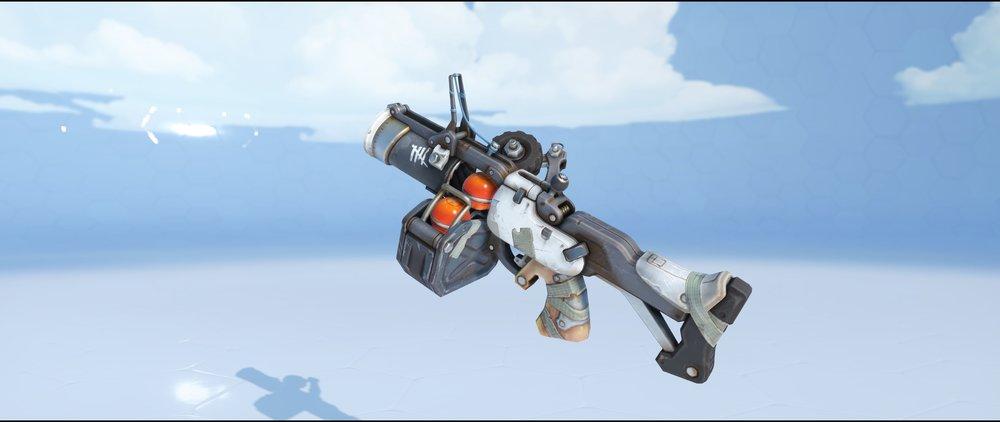Jailbird grenade launcher epic skin Junkrat Overwatch.jpg