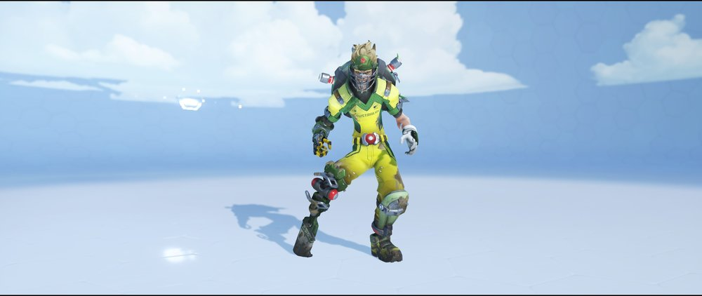 Cricket front legendary Summer Games skin Junkrat Overwatch.jpg