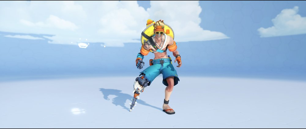 Beachrat front legendary Winter Wonderland skin Junkrat Overwatch.jpg