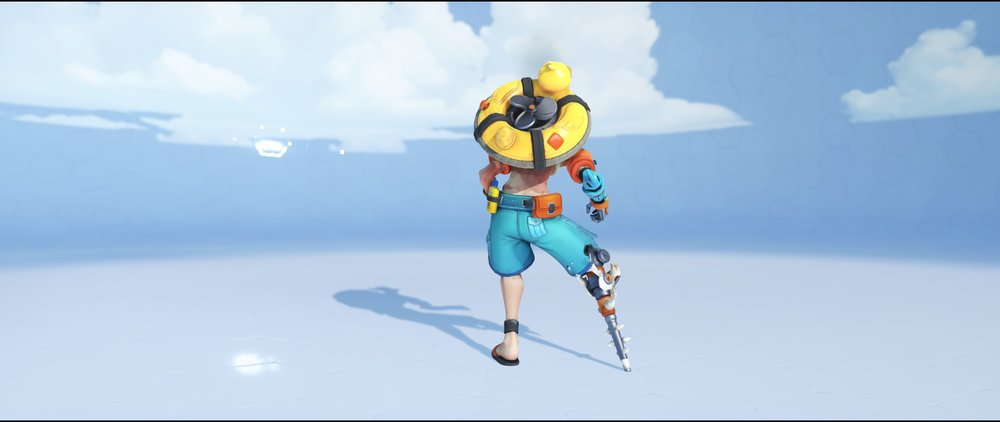 Beachrat back legendary Winter Wonderland skin Junkrat Overwatch.jpg