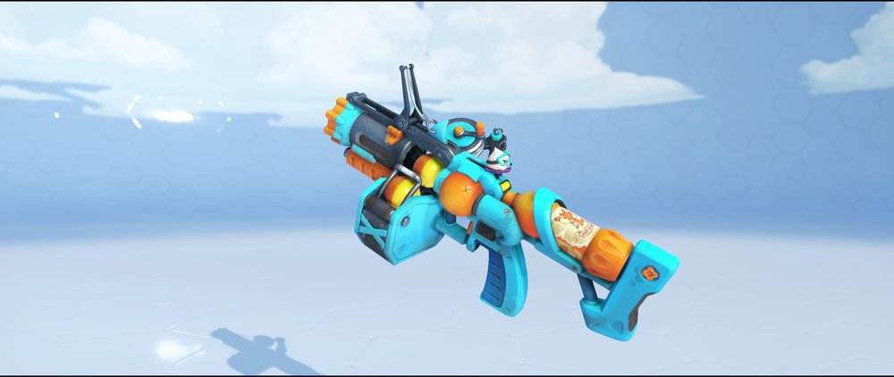Beachrat grenade launcher legendary Winter Wonderland skin Junkrat Overwatch.jpg