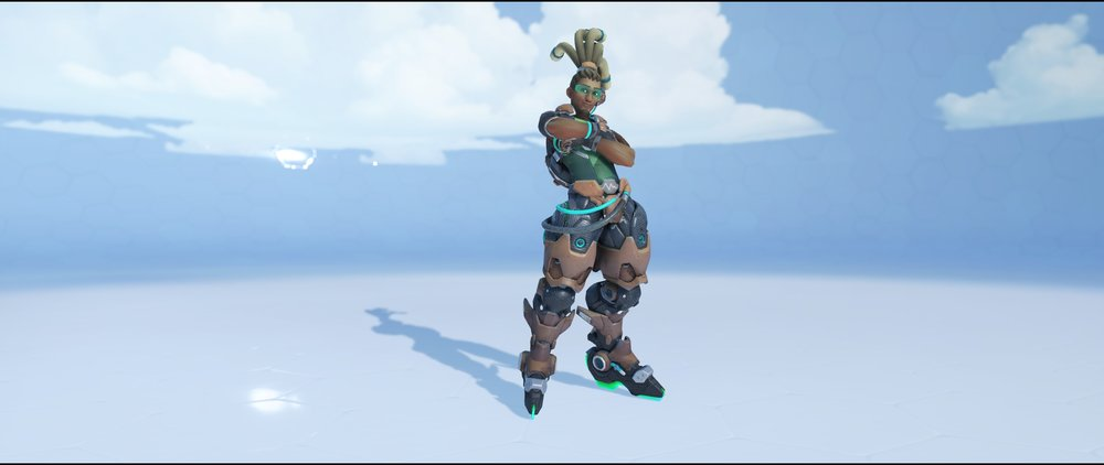 Synaesthesia front epic skin Lucio Overwatch.jpg