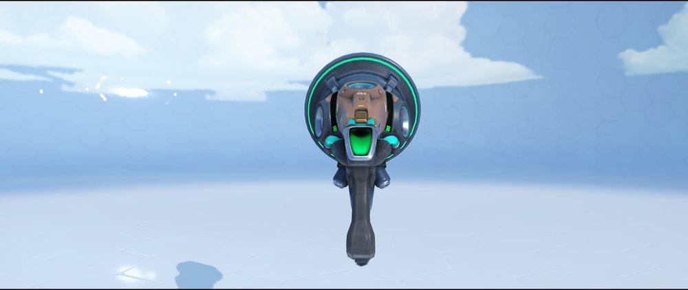 Synaesthesia gun back epic skin Lucio Overwatch.jpg