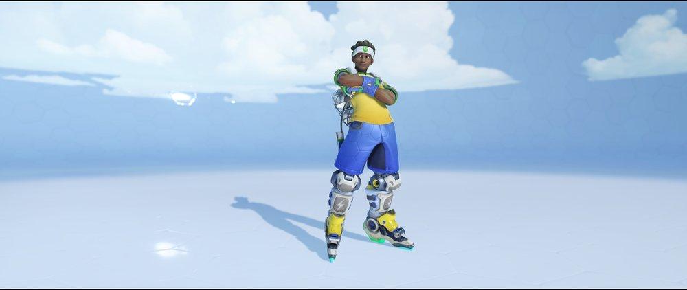 Selecao front legendary Summer Games skin Lucio Overwatch.jpg