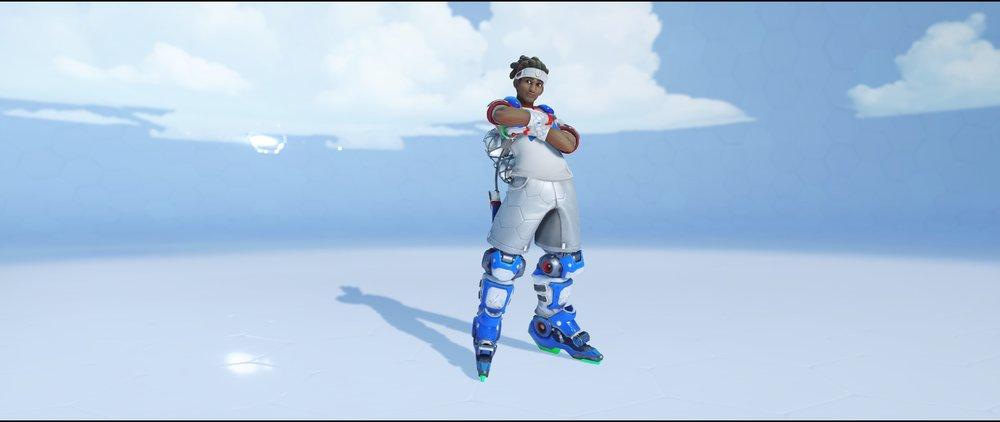 Striker front legendary Summer Games skin Lucio Overwatch.jpg