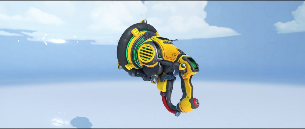 Equalizer gun front legendary Archives skin Lucio Overwatch.jpg