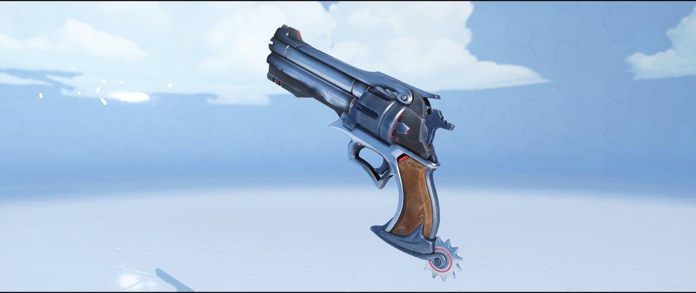 Ebony pistol rare skin McCree Overwatch.jpg