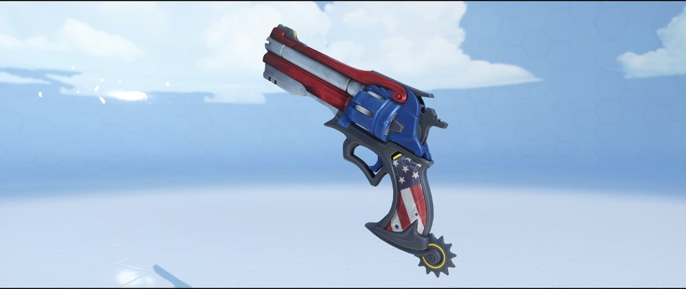 American pistol epic Summer Games skin McCree Overwatch.jpg