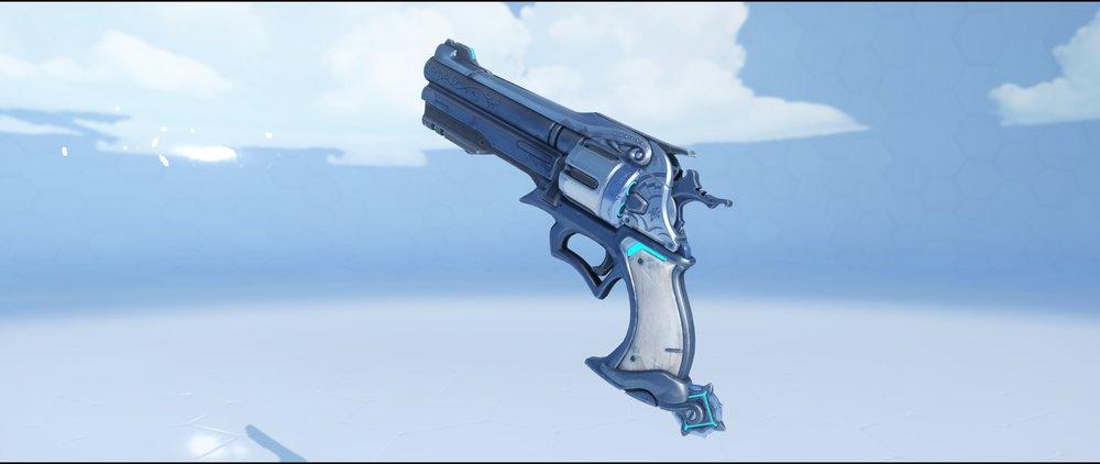 Mystery Man pistol legendary skin McCree Overwatch.jpg