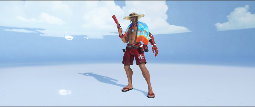 Lifeguard front legendary Summer Games skin McCree Overwatch.jpg