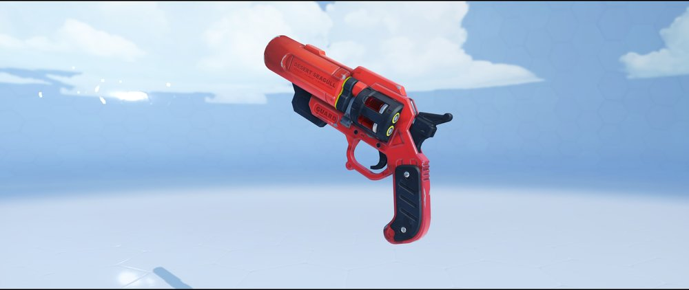 Lifeguard pistol legendary Summer Games skin McCree Overwatch.jpg