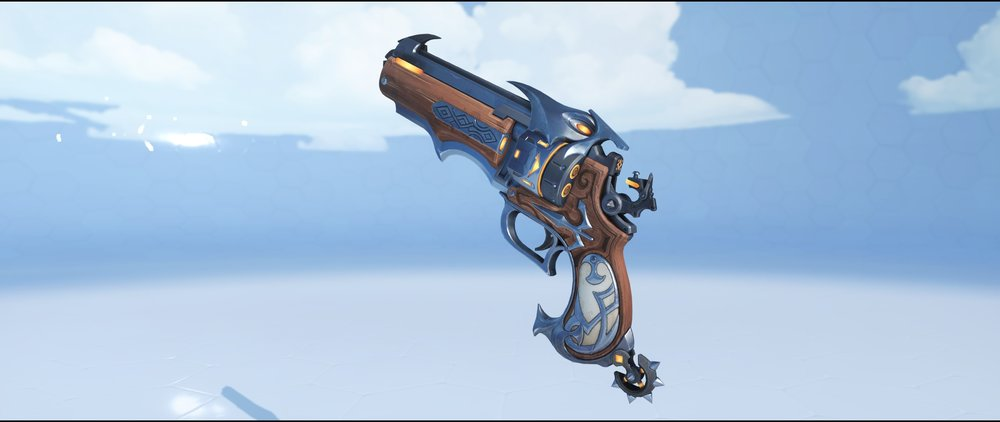 Van Helsing pistol legendary Halloween skin McCree Overwatch.jpg