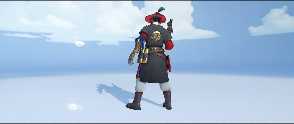 Magistrate back legendary Lunar New Year skin McCree Overwatch.jpg