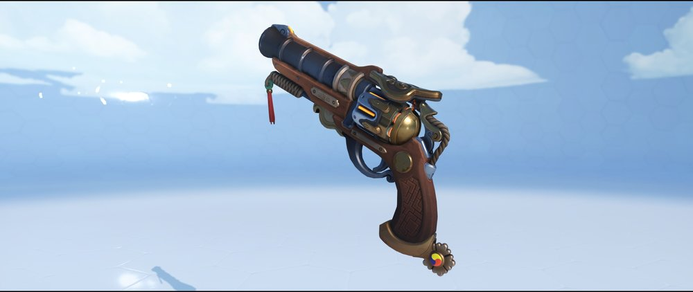 Magistrate pistol legendary Lunar New Year skin McCree Overwatch.jpg