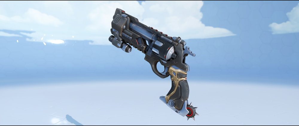 Blackwatch pistol legendary Archives skin McCree Overwatch.jpg