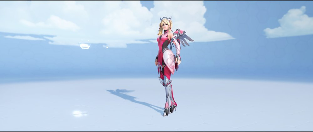Pink front legendary BCRF Charity Event 2018 skin Mercy Overwatch.jpg