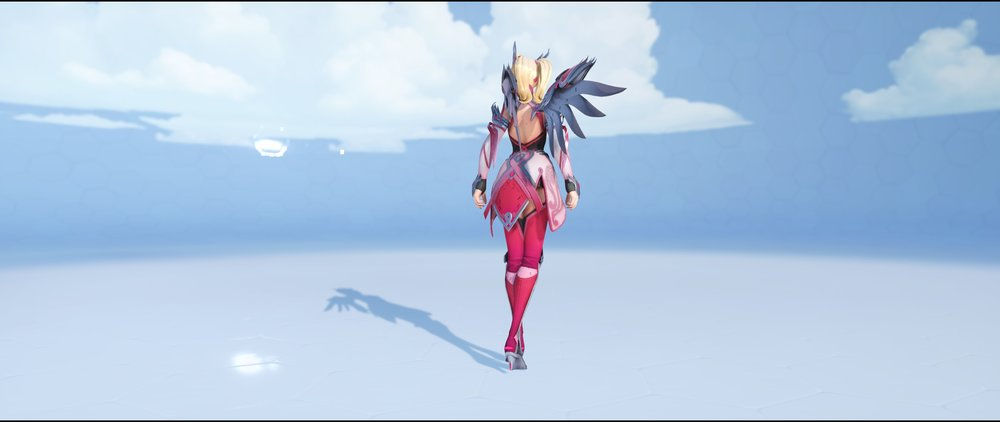 Pink back legendary BCRF Charity Event 2018 skin Mercy Overwatch.jpg