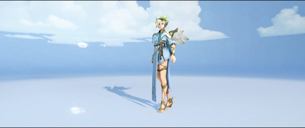 Winged Victory front legendary Summer Games skin Mercy Overwatch.jpg