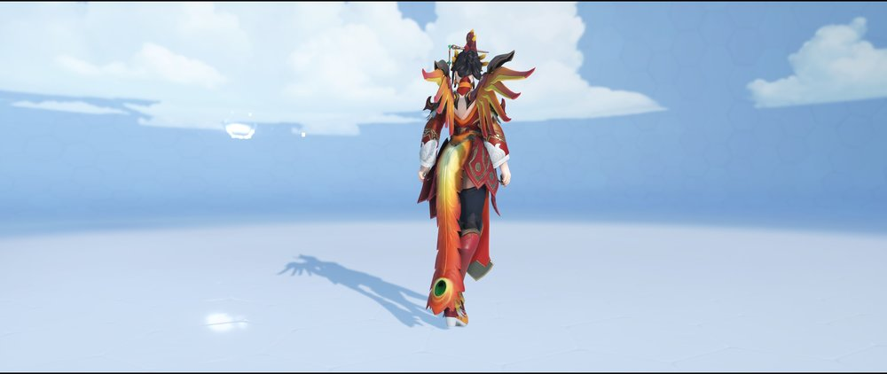 Zhuque back legendary Lunar New Year skin Mercy Overwatch.jpg