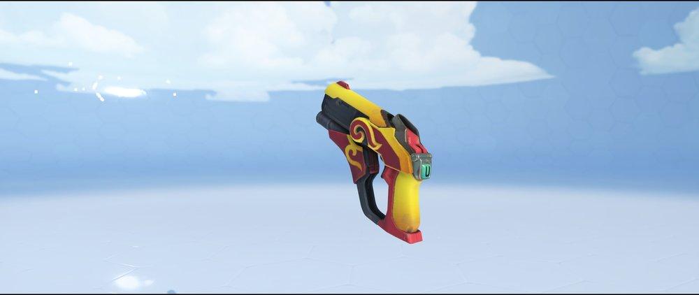 Zhuque pistol legendary Lunar New Year skin Mercy Overwatch.jpg