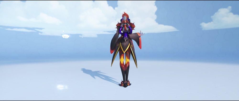 Fiery back rare skin Moira Overwatch.jpg