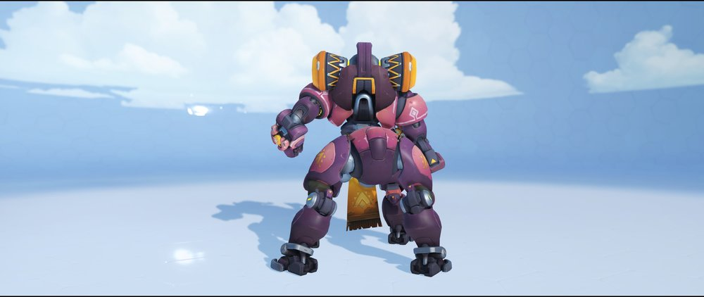 Sunrise back rare skin Orisa Overwatch.jpg