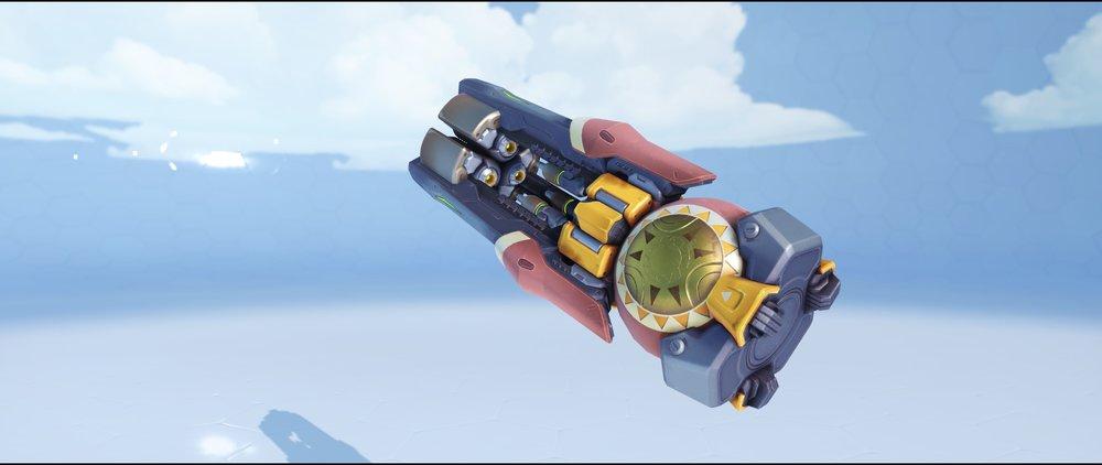 Sunrise gun front rare skin Orisa Overwatch.jpg
