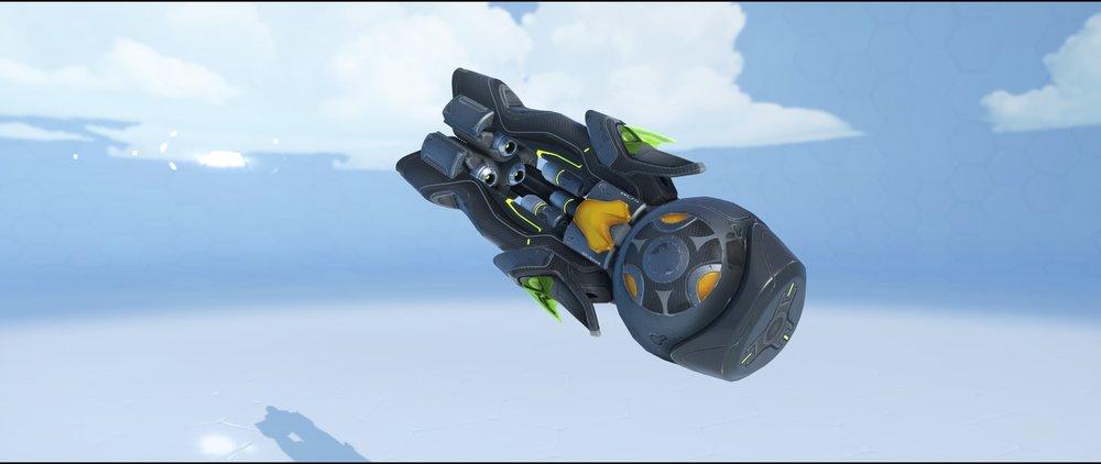 Carbon Fiber gun front legendary skin Orisa Overwatch.jpg