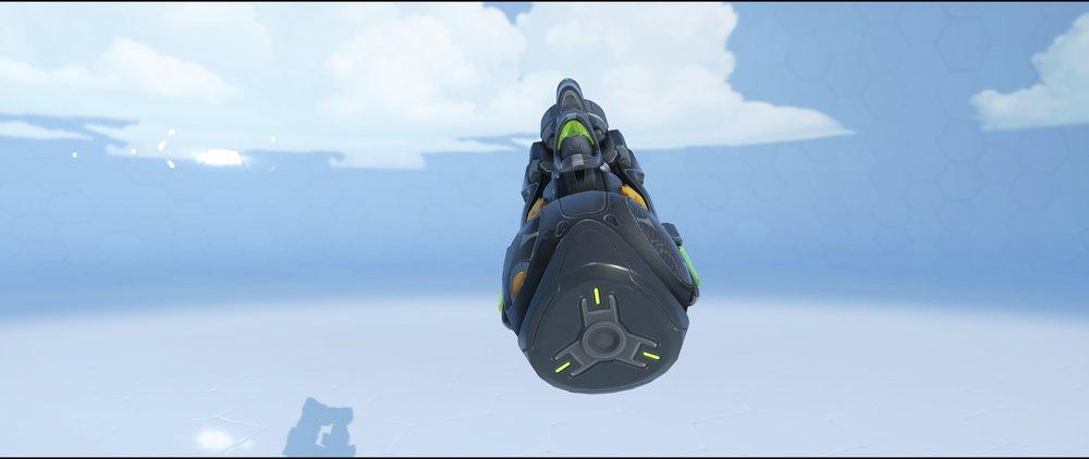 Carbon Fiber gun back legendary skin Orisa Overwatch.jpg