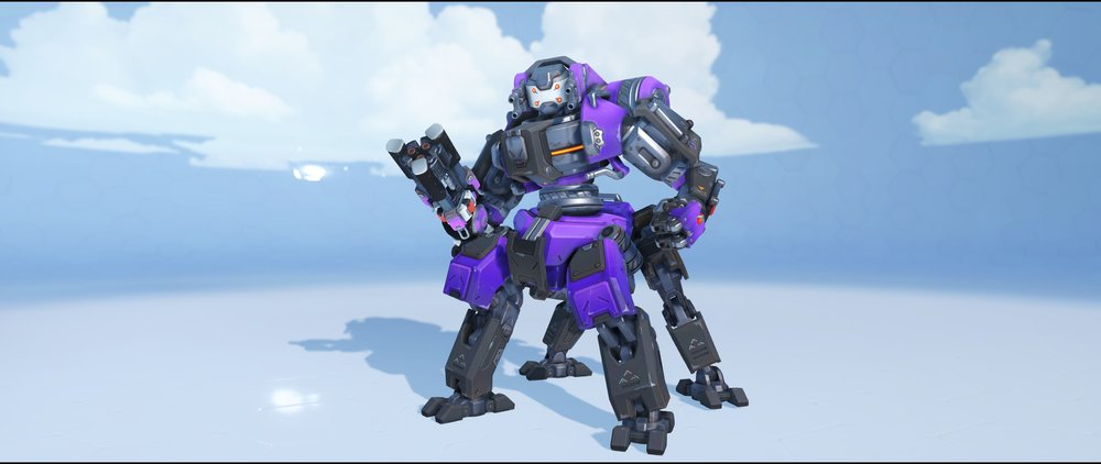Null Sector front legendary Archives skin Orisa Overwatch.jpg
