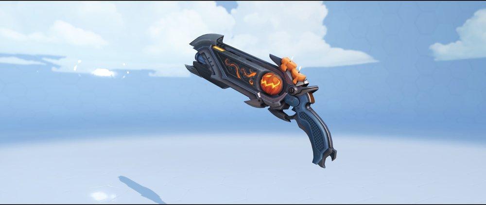 Pumpkin shotguns legendary Halloween skin Reaper Overwatch.jpg