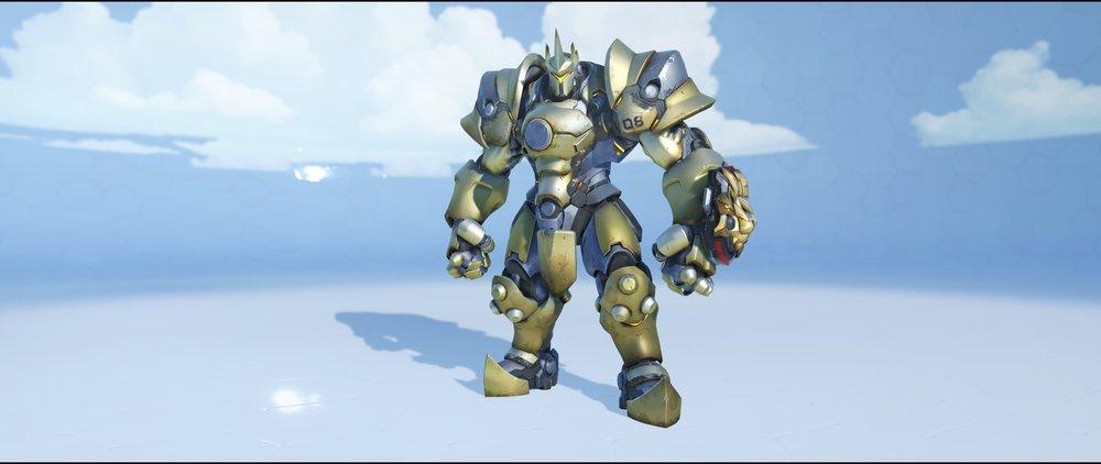 Brass front rare skin Reinhardt Overwatch.jpg