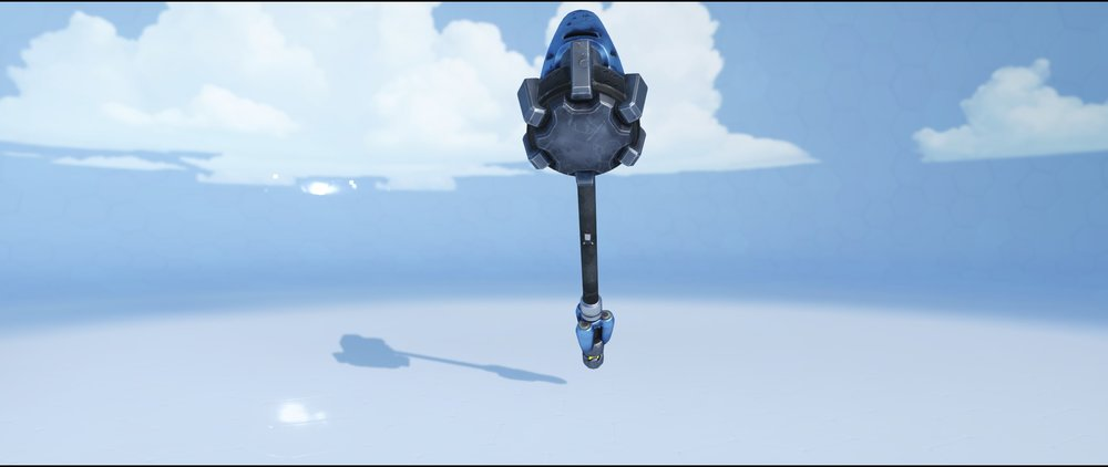 Cobalt hammer back rare skin Reinhardt Overwatch.jpg