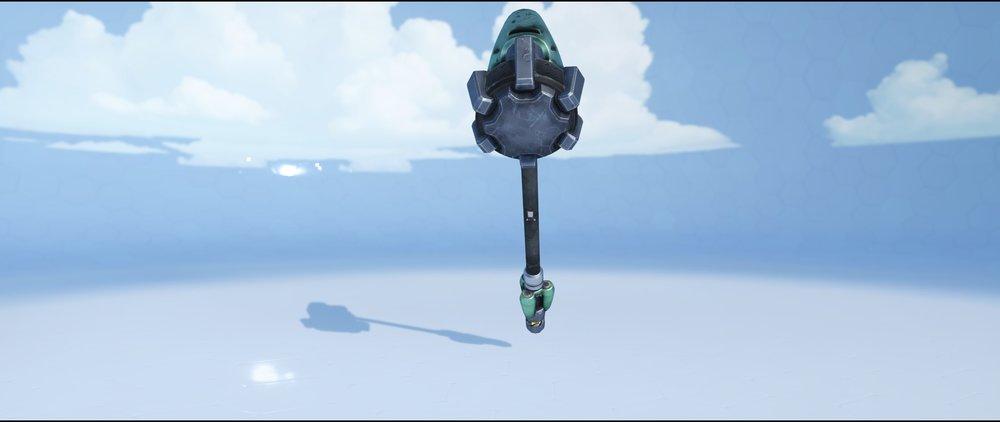 Viridian hammer back rare skin Reinhardt Overwatch.jpg