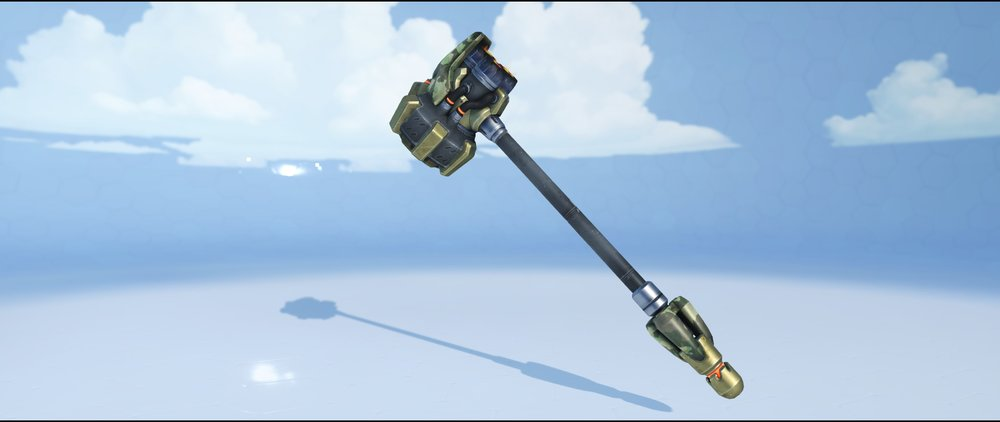 Bundeswehr hammer front epic skin Reinhardt Overwatch.jpg