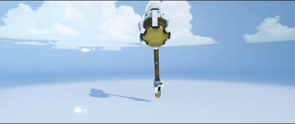 Paragon hammer back epic skin Reinhardt Overwatch.jpg
