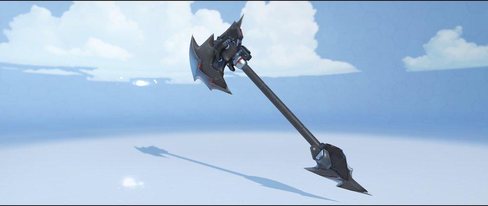 Blackhardt hammer front legendary skin Reinhardt Overwatch.jpg