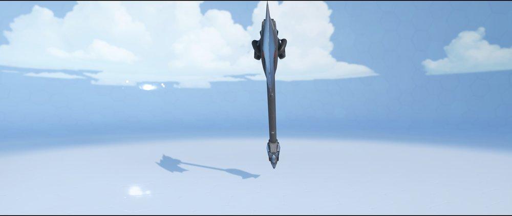 Blackhardt hammer back legendary skin Reinhardt Overwatch.jpg